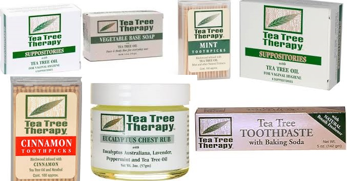 Tea Tree Therapy Bar Soap Lemon Myrtle 3.5 Oz