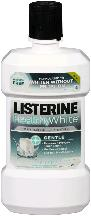 LISTERINE HEALTHY WHITE Anticavity Mouthwash, Gentle Clean Mint, 946 mL