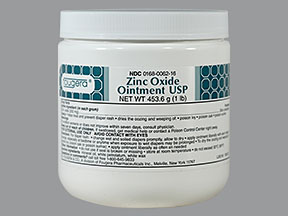 Zinc Oxide 20 % Ointment 1Lb By Fougera E And Co