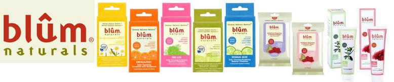 Blum Naturals Facial Tissues Oil Absorb 50 Ct
