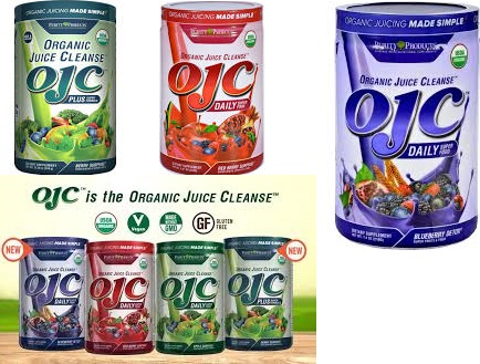 Ojc-Purity Products Juice Cleanse Organic(95%) Apple 8.47 Oz