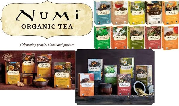 Numi Tea Tea Organic(95%) Turmric Golden Tonc 12 Bag