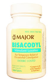 Bisacodyl 5 mg Tab 100 By Major Pharma Unit Dose Pack