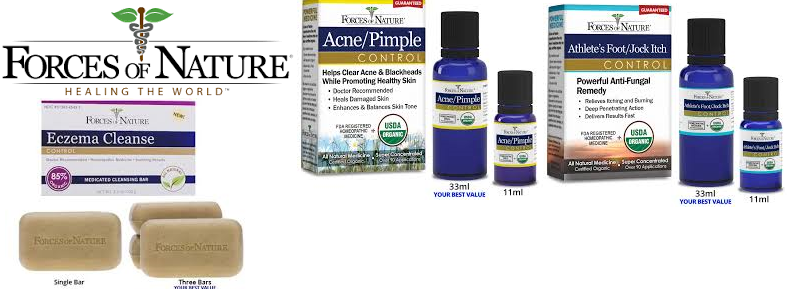 Forces Of Nature Acne/Pimple Cleanse Organic(70%) 3.5 Oz