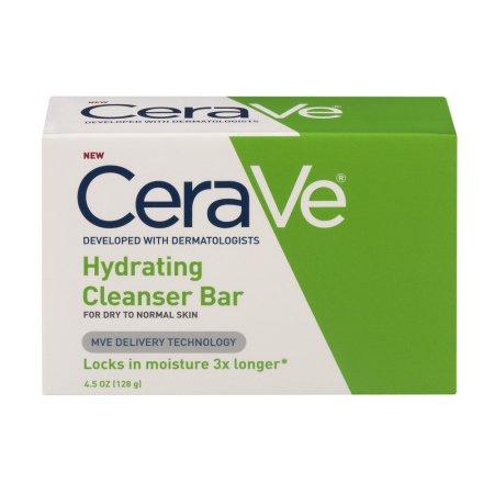 Cerave Hydrating Cleanser Bar 4.5 oz by Loreal Item No.:OTC900464 900464  NDC No.: 01872-0482-45 01872-482-45 0187248245 01872048245 UPC No.: 3-60600-053768-2 360600-0537682 3606000537682  Item Descri