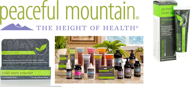 Peaceful Mountain Travel Rescue Kit 4 Ct