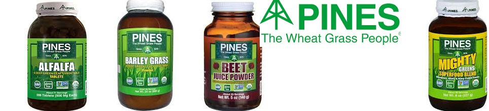 Pines International Wheat Grass 500mg Tab Organic(95%) 100 Tab