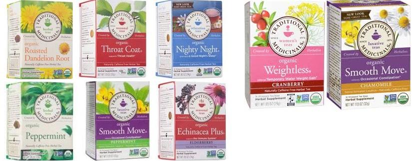 Traditional Medicinals Herb Tea Pau D'Arco 16 Bag