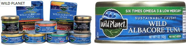 Wild Planet Tuna Wild Albacore 7.5 Oz