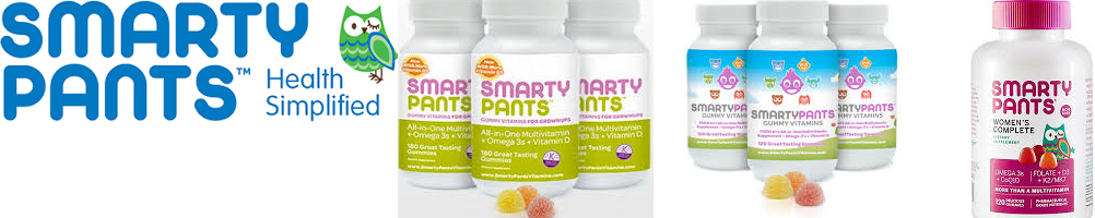 Smartypants Display Gummy Vitamins 5 Var 30 Ct