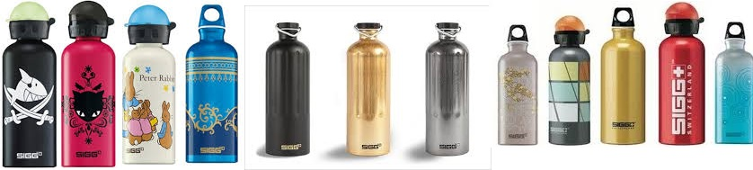 Sigg Water Bottle Active Top Gold .75 Ltr