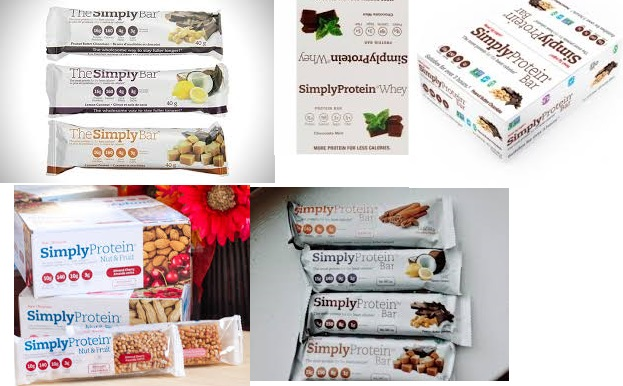 Simply Protein Protein Bar Apple Cinnamon 40 Grm