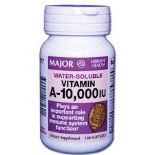 Vit A 10000 Unit Cap 100 By Major Pharm Item No.:4393686 NDC No.: 00904208560 UPC No.: 309042085601 Item Description: Gnrc Single Entity Vitamins Other Name:Vit A Therapeutic Code: 880400 Therapeutic