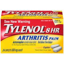 Case of 24-Tylenol Arthritis 8Hr Caplet 24Ct