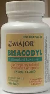 '.Bisacodyl 5 Mg Tab 1000 by Major.'