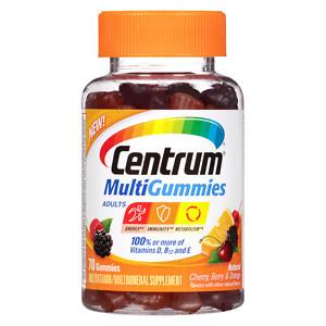 Centrum Multi Adult Fruit Gummy 70Ct