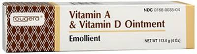 A&D Vitamin Ointment 4 oz By Fougera  A & D Vitamin Ointment 4 oz By Fougera, A&D, a&d, A-D Fougera Item No.:4407767 Ndc No.: 00168003504 Upc No.: 301680035048 Item Description: Baby Therapeutic Skin