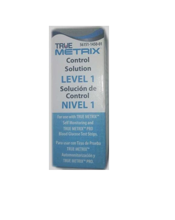 True Metrix Control 3ml Sol Level 1 By Nipro Diagnostics