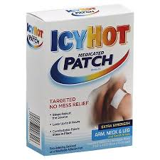 Icy Hot Medicated Patch Extra Strength Arm Neck & Leg And Small Areas - 5