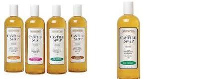 Shadow Lake Castile Soap Eucalyptus 16 Oz