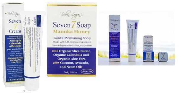 Seven Bar Soap Manuka Honey 5.6 Oz
