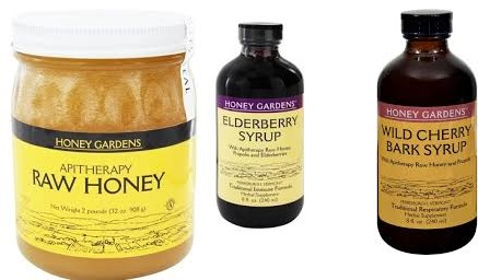 Honey Gardens Apiaries Cough Syrup Elderbry Ext 8 Fz