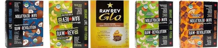 Raw Revolution Bar Organic(95%) Cherry Choc 100 Cal .8 Oz