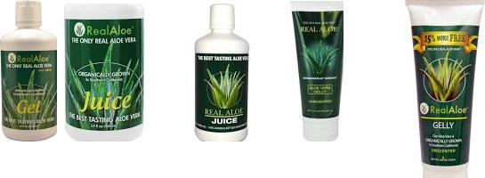 Real Aloe Inc. Aloe Vera Bar Soap 4.75 Oz