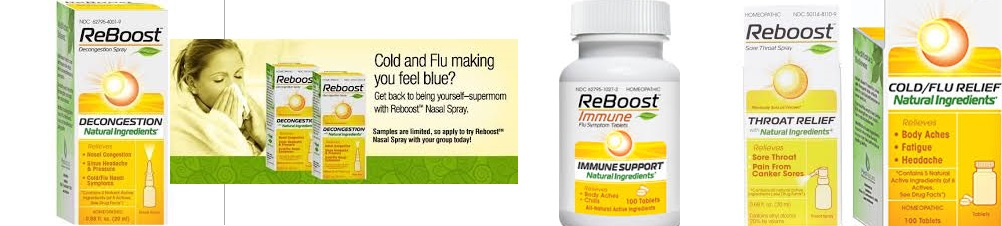 Reboost Nasal Spray Decongestion 20 ml