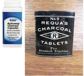 Requa Activated Charcoal 260Mg 100 Cap