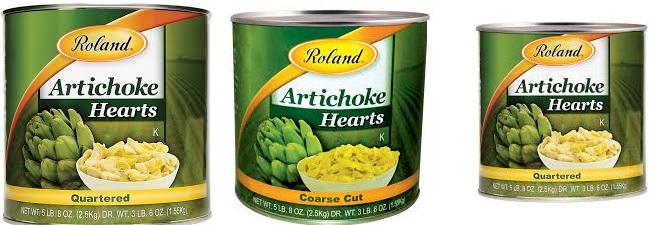 Roland Products Artichoke Salad Fancy 12 Oz
