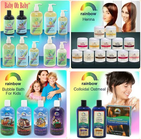 Rainbow Research Baby Shampoo Scented 8 Fz