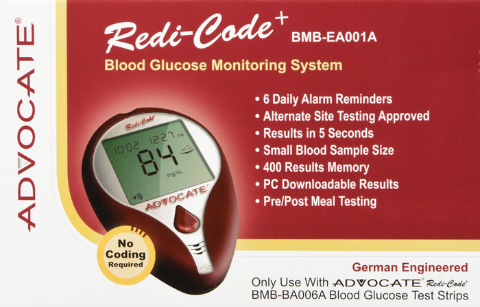 '.Advocate Redcode Plus Glucose .'