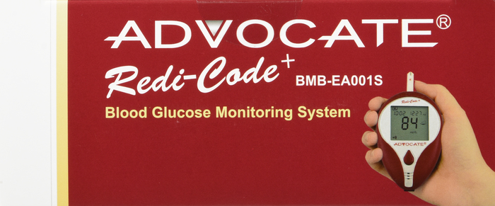 Advocate RedIcode Talk Blood Sugar Meter by Pharma Supply