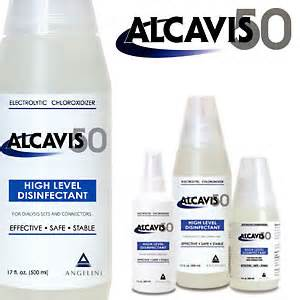 Alcavis 50 High Level Bleach Disin-