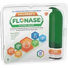 Flonase Child 0.34 oz By Glaxo Smith Kline Consumer Flonase Allergy Relief, Children'S, Full Prescription Strength, 50 mcg, Metered Sprays - 0.34 Fl oz Item No.:4484624 NDC No.: UPC No.: 353100201250