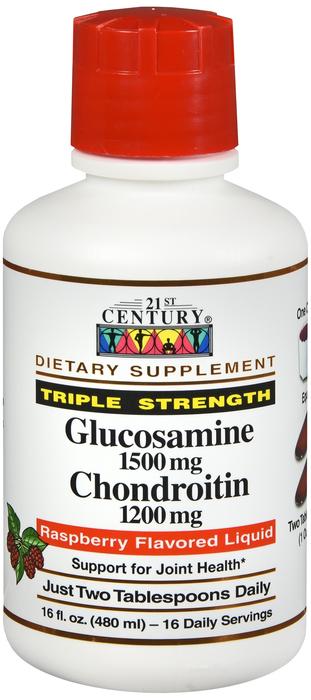 Glucosamine Chondroitin 1500-1200 Liquid 16 oz
