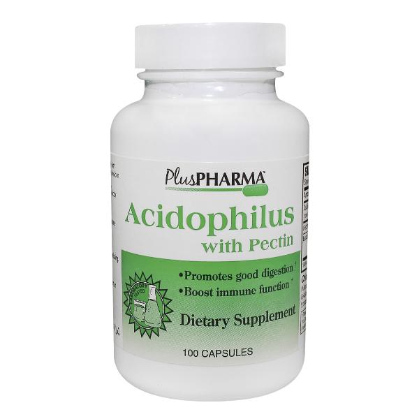 Acidophilus Plus Pectin Cap 100 By Plus Pharma Inc