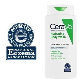 case of 12-Cerave Hydrating Body Wash Liq 10 oz by Loreal