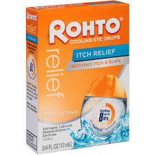 Rohto Relief Eye Drops Itch Relief 13ml