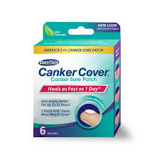 Canker Cover Canker Sore Patch - 6 CT By DenTek