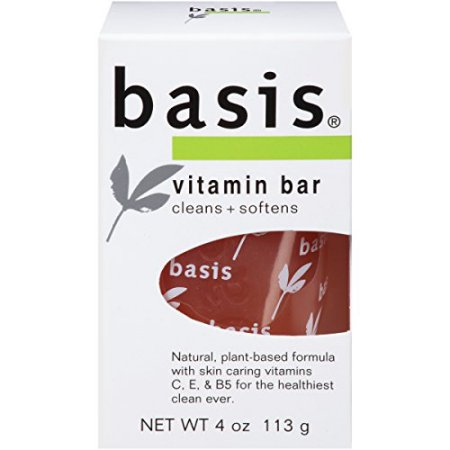 Basis Bar Vitamin 4 oz  By Beiersdorf/Cons Product Case of 24