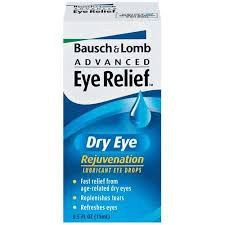 Bausch + Lomb Advanced Eye Relief Dry Eye Rejuvenation Drops - 0.5 Fl oz Bottle