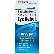 Bausch + Lomb Advanced Eye Relief Dry Eye Rejuvenation Drops - 0.5 fl oz bottle