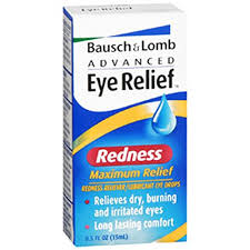 Bausch & Lomb Advanced Eye Relief Drops, Redness - 0.5 fl oz bottle Bausch & Lomb Advanced Eye Relief Drops, Redness - 0.5 fl oz bottle By Valeant North America Llc Item No.:4515890 Ndc No.: 101190020