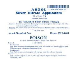 Silver Nitrate 75% 25% Apr 10X10 by Arzol Chemical