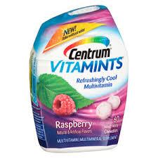 Centrum Vitamints Multivitamin Supplement In Raspberry Flavor 60 Ct