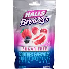Buy More Save More <Br>Halls F/Brzr 20 By Mondelez Global LLC Item No.:4527592 NDC No.: UPC No.: 312546632233 Item Description: Throat & Cough Drops Other Name:Halls F/Brzr Therapeutic Code: Therapeut