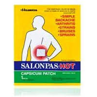 Salonpas Capsicum Patch 5.12 In X 7.09 In 50 X 1 Count By Emerson Healthcare LLC