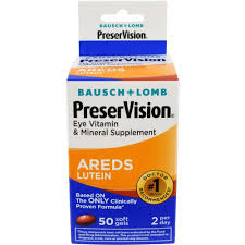 PreserVision Vitamin & Mineral Supplement with Lutein, Soft Gels - 50 count